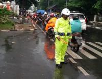 Lalu Lintas Padat di Sejumlah Ruas Jalan Jakarta Sore Ini
