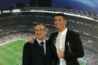 Perez Balas Komentar Ronaldo yang Sebut Madrid Tak Seakrab Juventus