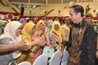 Dana PKH Rp34 Triliun di 2019, Jokowi: Saya Belum Pernah Lihat Uang Segede Ini