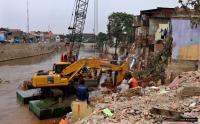 Pemprov DKI Tata Bantaran Kali Karang Pluit untuk Tingkatkan Ekonomi Masyarakat