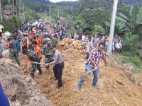 Longsor Timbun 4 Rumah di Toba Samosir, 8 Orang Tewas 2 Hilang