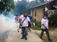 Perindo Kembali Gelar Fogging di Kawasan Istana Sultan Serdang