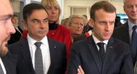 Pemerintah Prancis Lirik Senior Toyota sebagai Pengganti Carlos Ghosn
