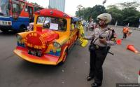 Polisi: Tak Punya Izin, Odong-Odong Dilarang Melintas di Jalan Raya!