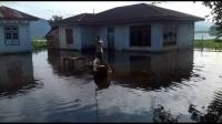Banjir Rendam Ratusan Rumah di Kota Sungai Penuh
