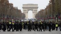 Polisi Tangkap 21 Orang Jelang Demo Massa 'Rompi Kuning' di Paris
