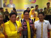 Ada 5 Kepala Daerah dari Golkar di Jambi, Airlangga Optimis Jokowi Menang