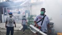 4 Warga Kena DBD, Perindo Langsung <i>Fogging</i> Perumahan di Medan Tuntungan