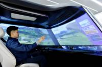 Fungsi Kaca Mobil Akan Menjadi Layar Hiburan di Era Mobil Otonom