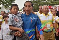 Saat Hidup Miskin, Dalam Hati Jokowi Bilang