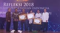 MNC Trijaya Raih Anugerah Media LIPI 2018
