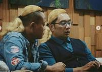 Mirip Sule, Ini Gaya Rambut Ridwan Kamil yang Bikin Ngakak