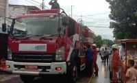 Rumah Dekat Stasiun Grogol Terbakar, 18 Unit Damkar Dikerahkan