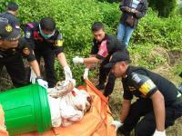 Penemuan Mayat Dalam Tong Gegerkan Warga Surabaya