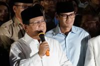 Prabowo-Sandiaga Tiba di Lokasi Debat