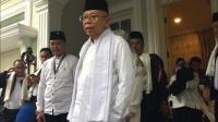 Bebaskan Ba'asyir, Ma'ruf Amin: Sisi Kemanusiaan Jokowi Luar Biasa