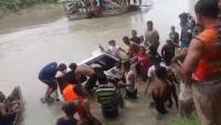 BPBD Cari 2 Korban Hilang Akibat Mobil <i>Nyemplung</i> di Sungai Wampu Langkat