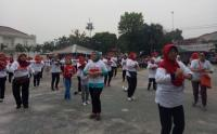 Perindo Jaksel Gelar Senam Bersama Warga Pondok Karya