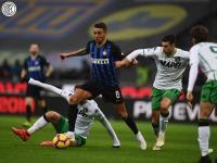 Skor Kacamata Akhiri Laga Inter vs Sassuolo