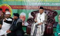 Ma'ruf Amin akan Tetap Pakai Sarung Jika Terpilih Jadi Wakil Presiden