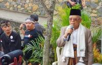 Kunjungi Bandung Barat, Ma'ruf Amin Bertekad Bangkitkan Sektor Pertanian