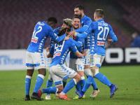 Napoli Petik Kemenangan atas Lazio 2-1