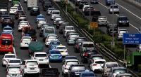 Jelang Siang, Lalin di Sejumlah Ruas Tol Jakarta-Cikampek Terpantau Padat