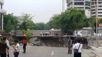 Kasus Jalan Gubeng Surabaya Ambles, Polisi Tetapkan 3 Tersangka