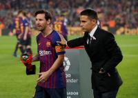 Messi Diturunkan di Leg II Perempatfinal Copa del Rey Barcelona vs Sevilla?