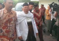 Ma'ruf Amin Konsolidasi Pemenangan dengan Ulama Madura