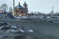 Salju Hitam Turun di Rusia, Ini Fakta Sebenarnya