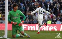 Gol Casemiro Bawa Madrid Ungguli Girona 1-0 di Babak Pertama