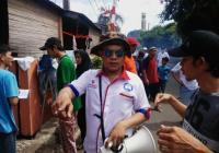 Caleg DPRD Perindo Tangerang Asapi Ratusan Rumah Warga di Pabuaran