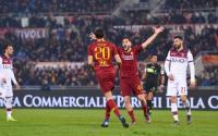AS Roma Jinakkan Bologna di Stadio Olimpico
