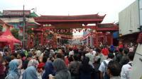 Kemeriahan Perayaan Cap Go Meh di Bogor Diiringi Rintik Hujan