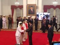 Ini Pesan Khusus Jokowi ke Gubernur dan Wagub Riau yang Baru Dilantik