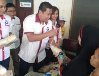 Partai Perindo Gelar Bazar Beras Murah di Matraman, Habis dalam Hitungan Detik