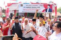 Raih Kemenangan di Sumbar, TKN Resmikan Rumker Pertama di Sumatera