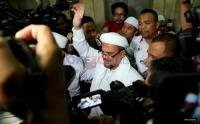 Bicara di Acara Munajat 212, Habib Rizeq Sindir 'Penegakan Hukum Suka-Suka'