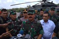 Diperintah Jokowi, Panglima TNI Pantau Langsung Karhutla di Riau