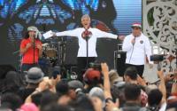 Slank Meriahkan Apel Kebangsaan di Simpang Lima Semarang