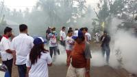 Caleg Perindo Fogging Ribuan Rumah Warga di Minahasa Utara
