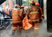 Juru Kunci Tewas Akibat Kebakaran Kelenteng Tay Kak Sie di Semarang