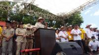 Prabowo Janji Akan Hentikan Korupsi di Bumi Indonesia