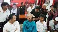 Jokowi-Maruf Unggul di Quick Count, Walikota Solo Langsung Cukur Gundul