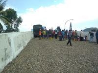 Bus Kecelakaan di Jalur Puncak Bogor Gara-Gara Rem Blong, 15 Terluka