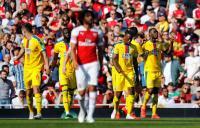 Arsenal Tertinggal 0-1 dari Crystal Palace di Babak Pertama