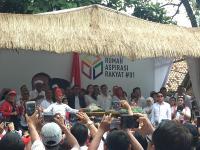 Relawan Jokowi Gelar Syukuran atas Kemenangan Versi Quick Count