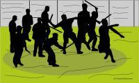 Diserang Puluhan Orang, Tiga Polisi di Pekanbaru Kena Tusuk
