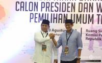 BPN: Sandiaga Akan Tetap di Samping Prabowo hingga Titik Darah Penghabisan